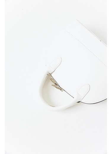 Moon Clutch / El Çantası Beyaz